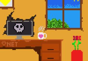 Vou fazer uma pixel art para você