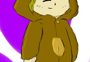 Irei criar uma ilustração chibi para você
