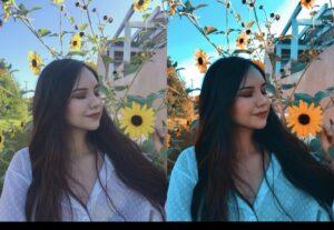 Edito 2 fotos!! Coloco o filtro que mais combina e arrumo nitidez, cor e etc ❤️