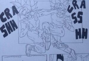 Faço desenho de animes