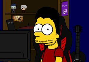 Desenho Estilo Simpsons