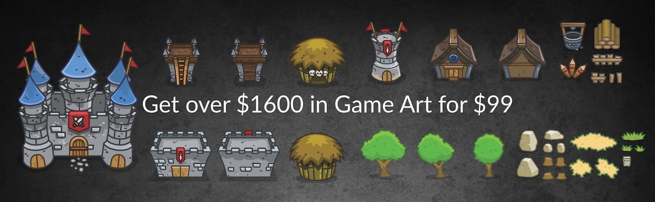 Game Art Bundles - Royalty Free