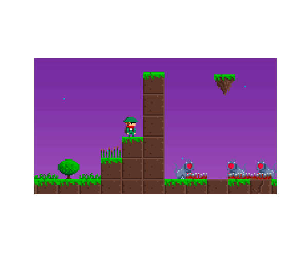 Pixel Platformer Featured Game Art