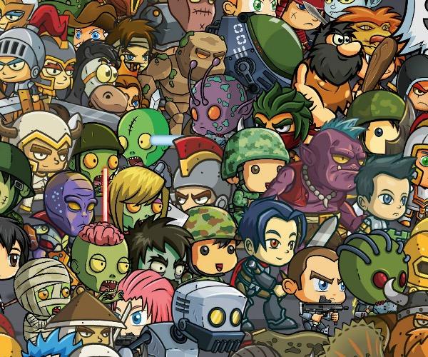 60 Character Mega Bundle