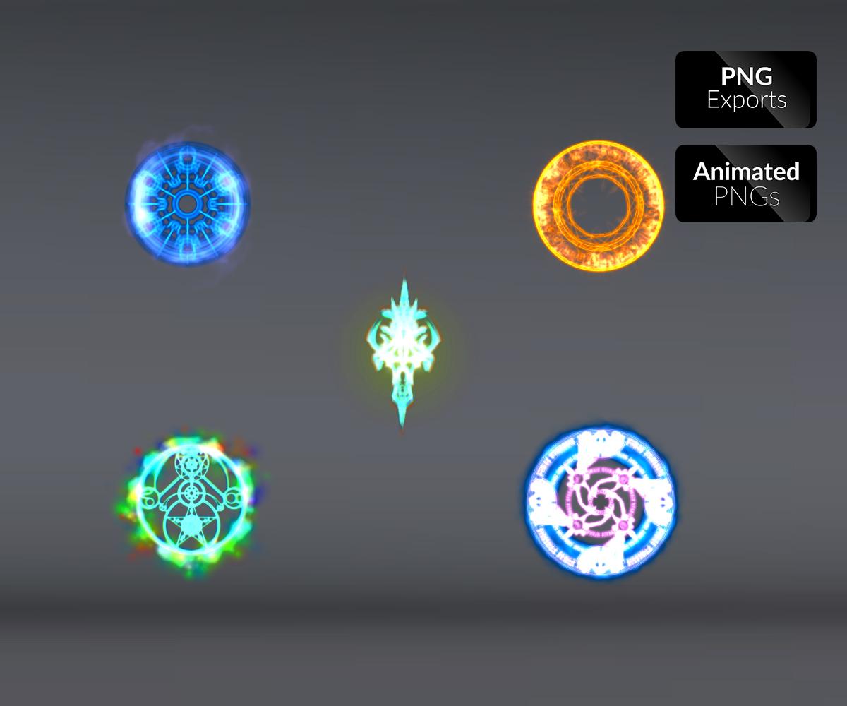 magical elements fx game art partners