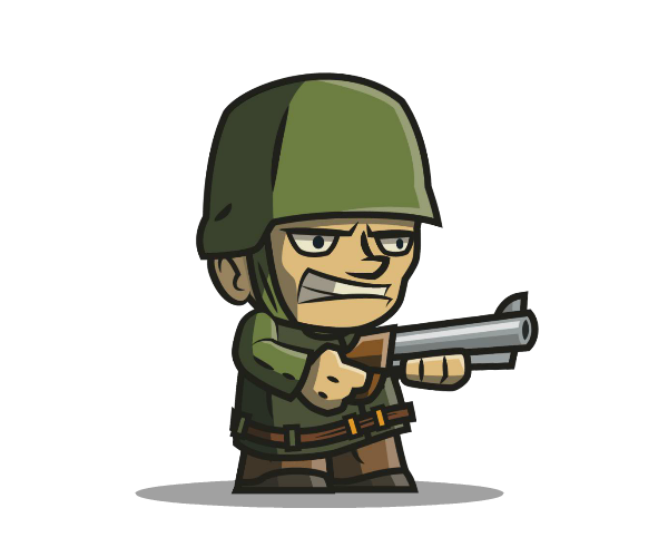 Sam Army Man Game Art