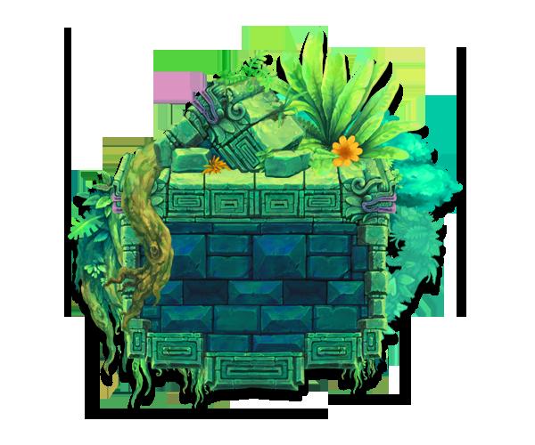 mayan temple tileset
