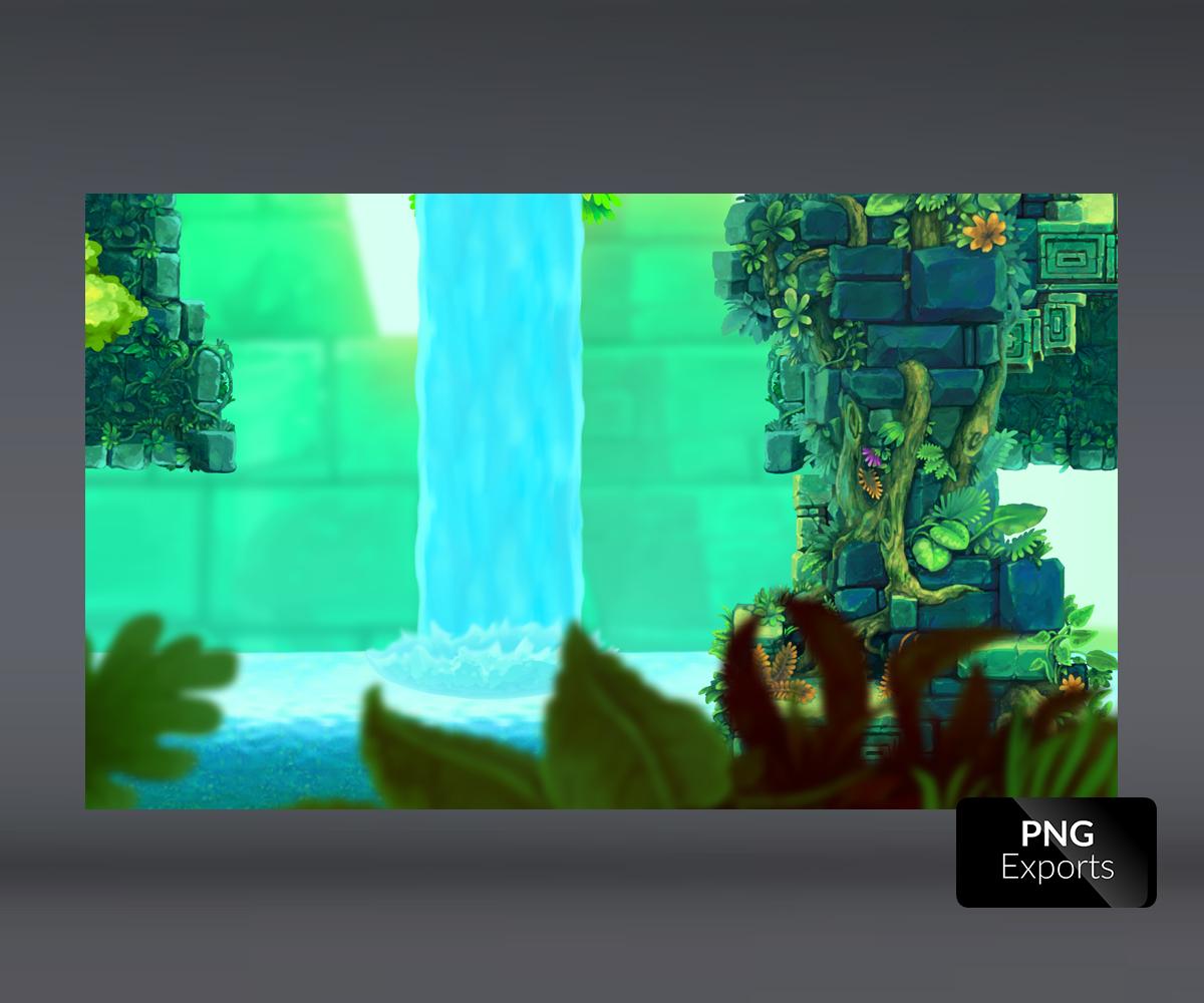 mayan temple tileset image2