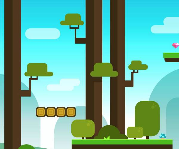block style platform royalty free game featured