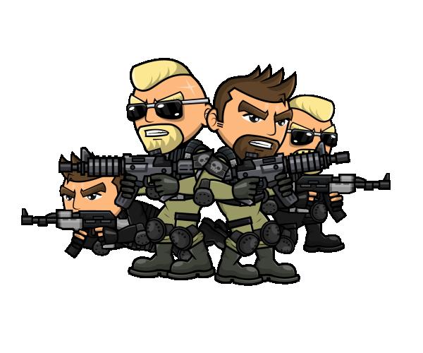 Ruthless mercenaries