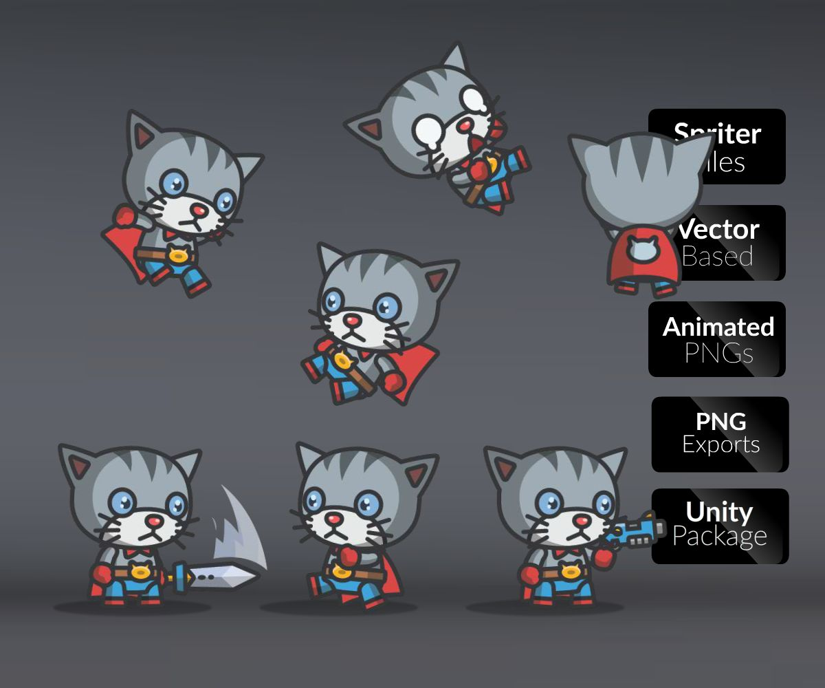 super cute characters royalty free game art