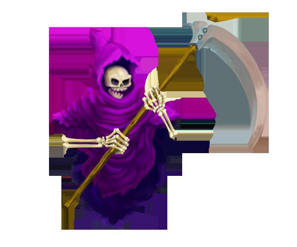 grim reaper, character sprite