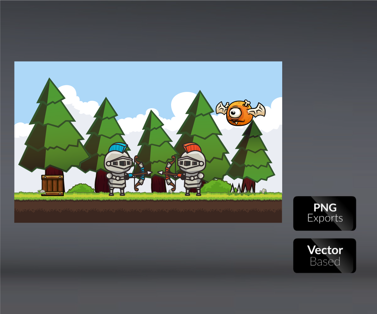 Archer Royalty Free Game Art