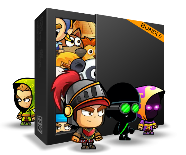 pasilans character bundle royalty free game art
