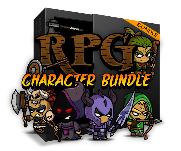RPG Character Game Art Bundle