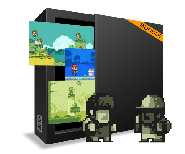Royalty Free Pixel Art Bundle