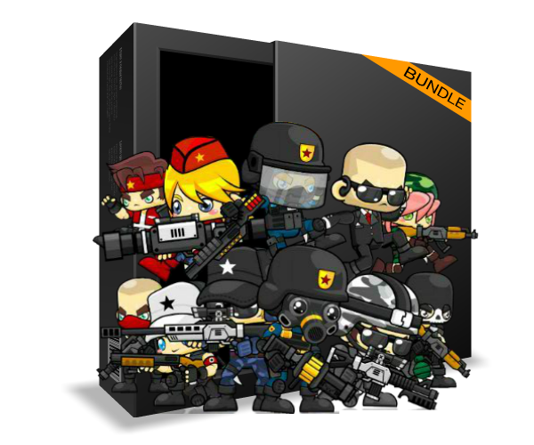 Super Sprite Bundle 5 Royalty Free Game Art