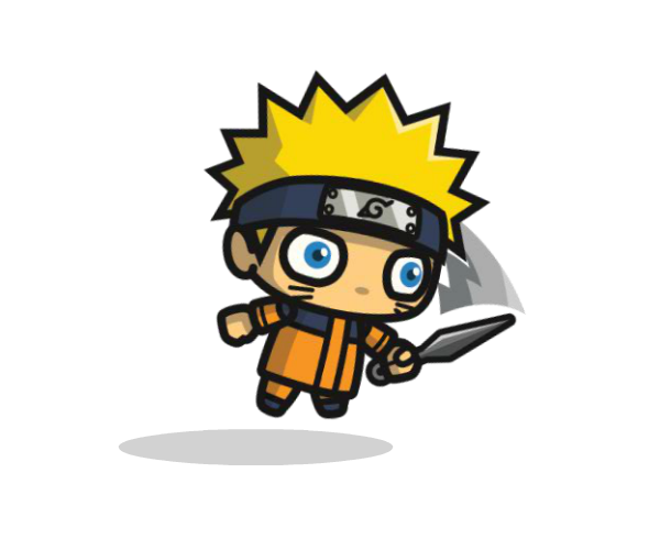 Shinobi 1 Royalty Free Chibi Game Art Character