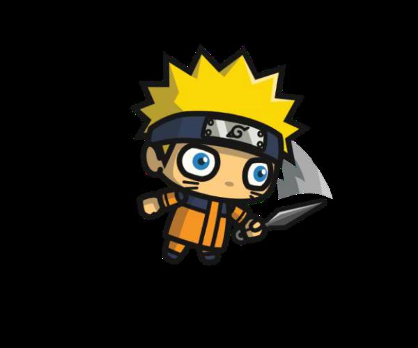 Shinobi 1 Royalty Free Chibi Game Art Character
