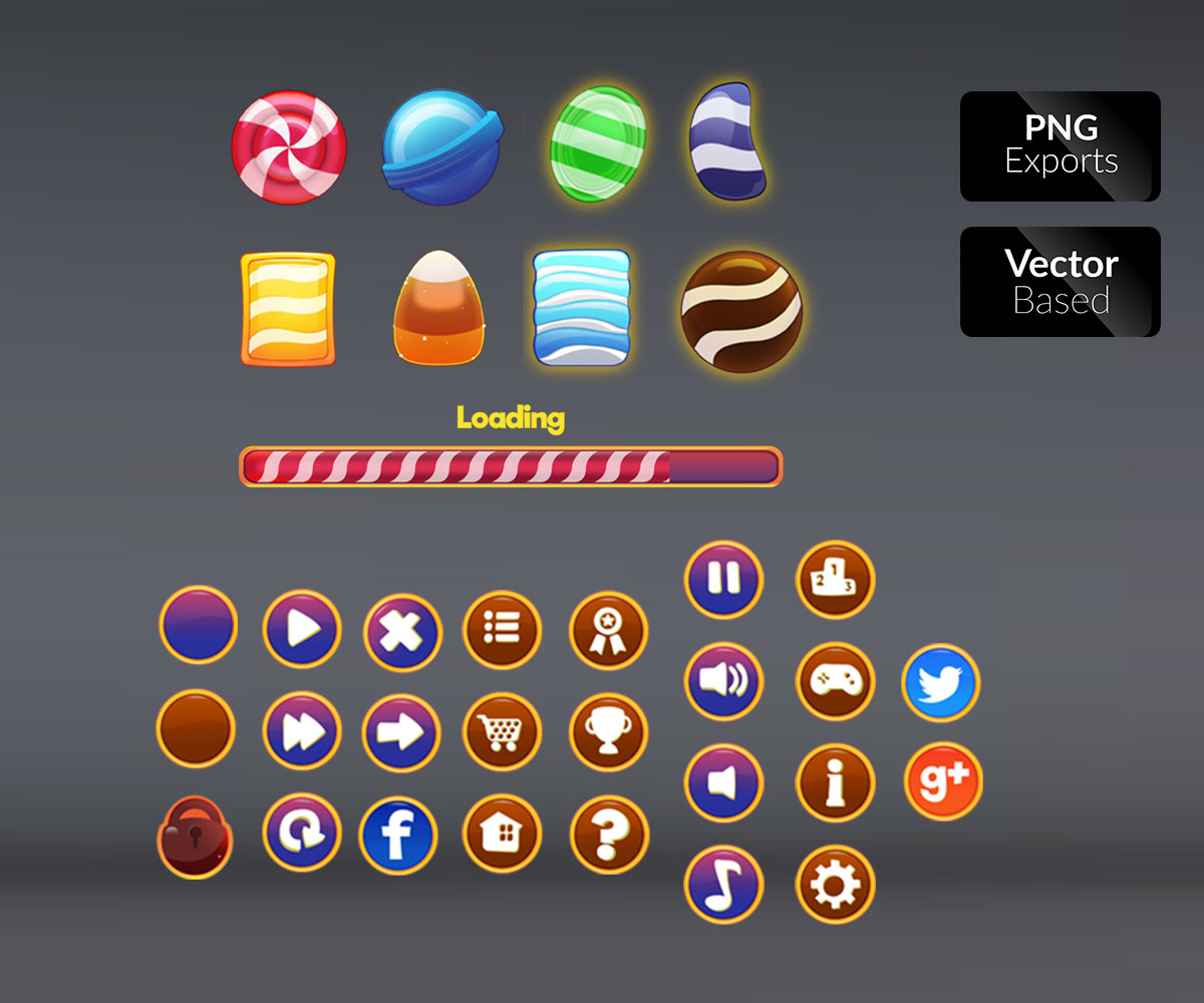 Candy Themed GUI