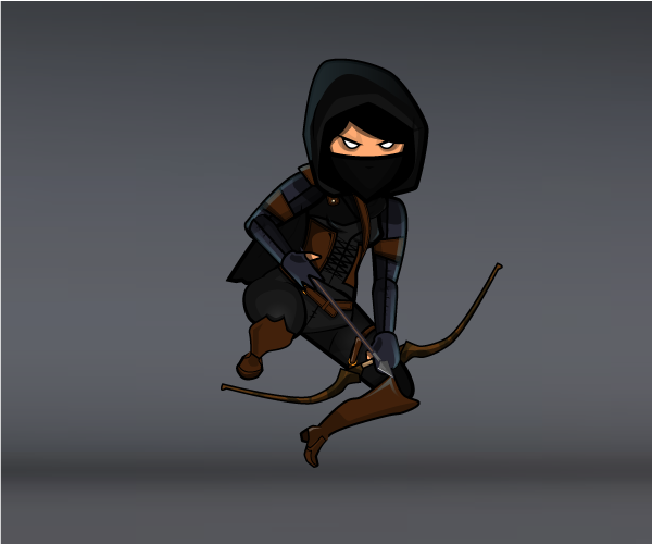 dark female thief