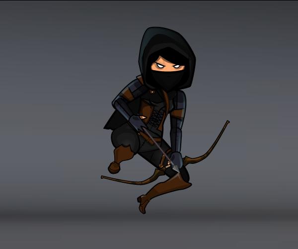 dark female thief