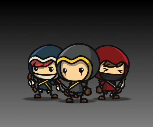 Mini ARchers Royalty Free game art
