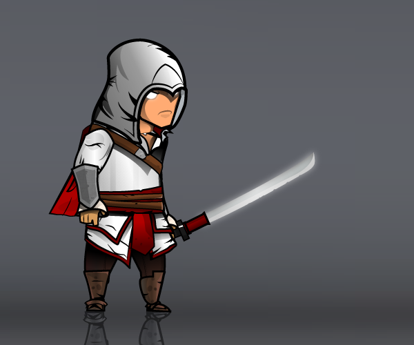 White Hero assassin