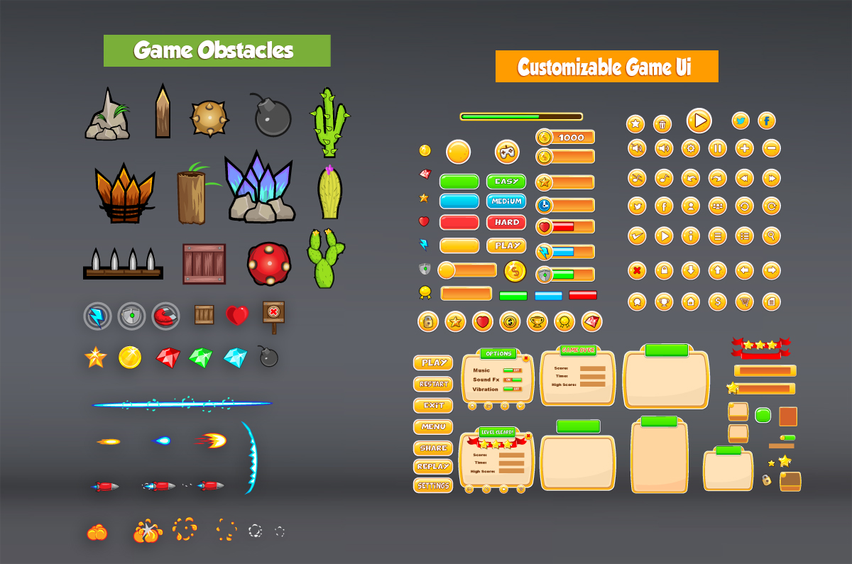 Chicken Run Game kit Assets - Game Art Partners