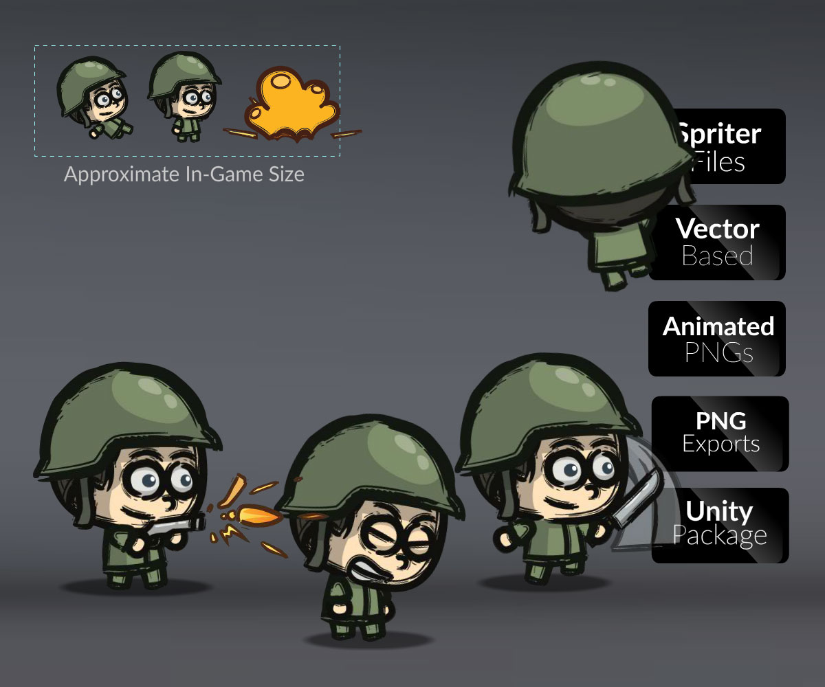 Cartoon Little Army 01 Cartoonsmart Com