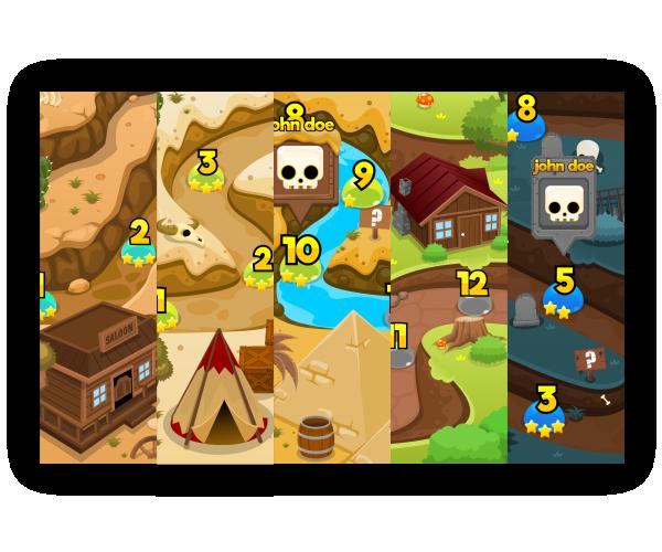Top Down Level Art | Game Art Partners