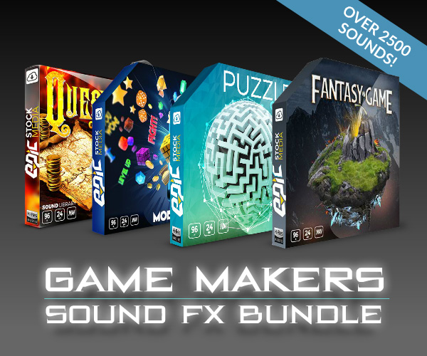 Game Makers Sound FX Bundle