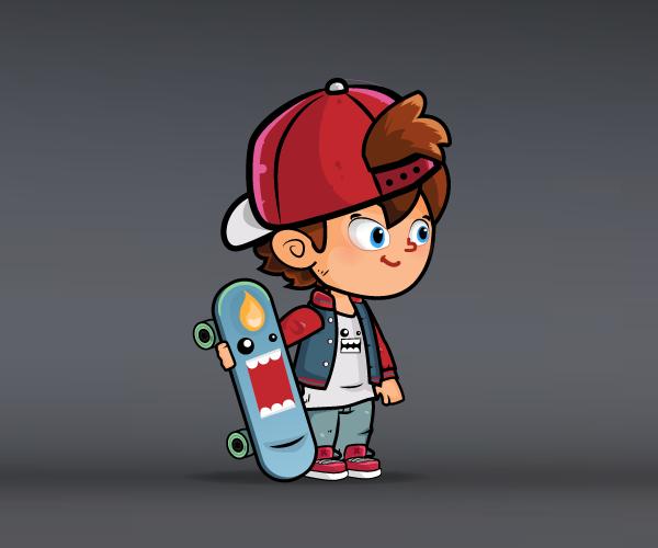skater boy cover