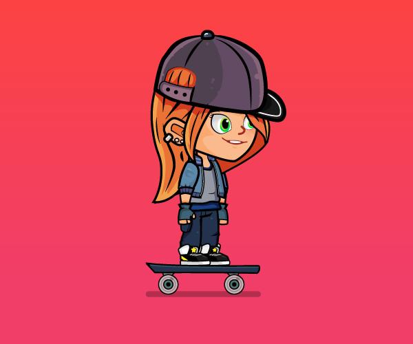skater girl thumbnail