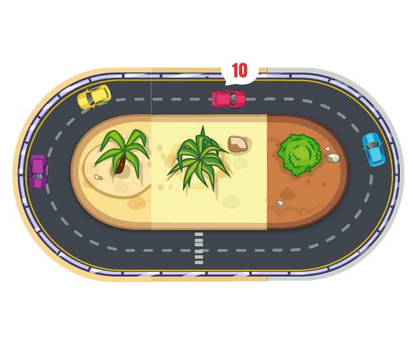 Race track Royalty Free Game Art