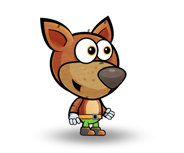 Dog Royalty Free Game Art Character