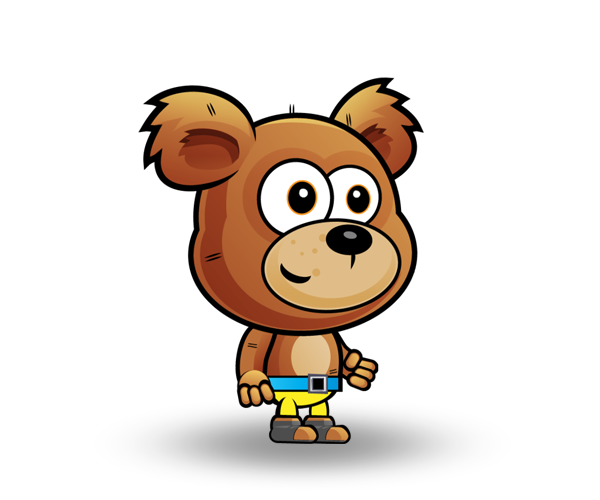Bear Royalty Free Game Art Character