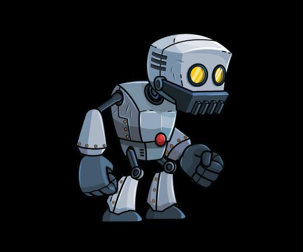 Robot Royalty Free Game Art