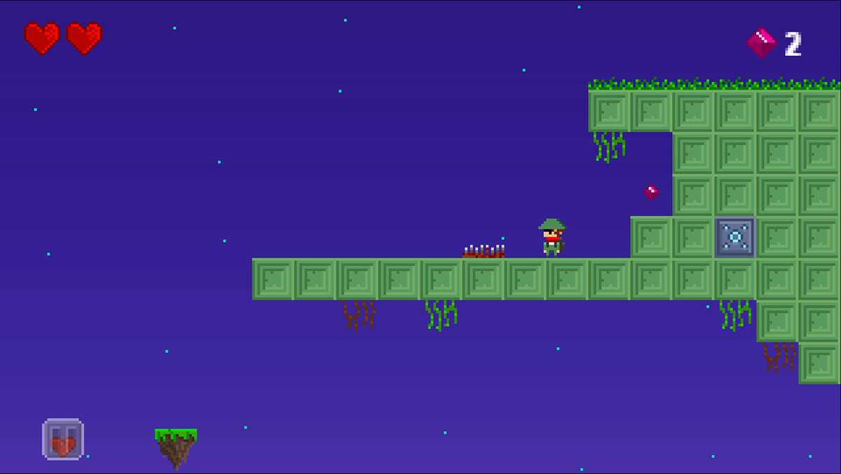 Platformer Pixel Package Royalty Free Game Art