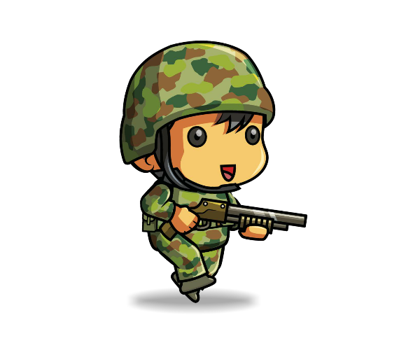 tiny soldier 3 game art partners
