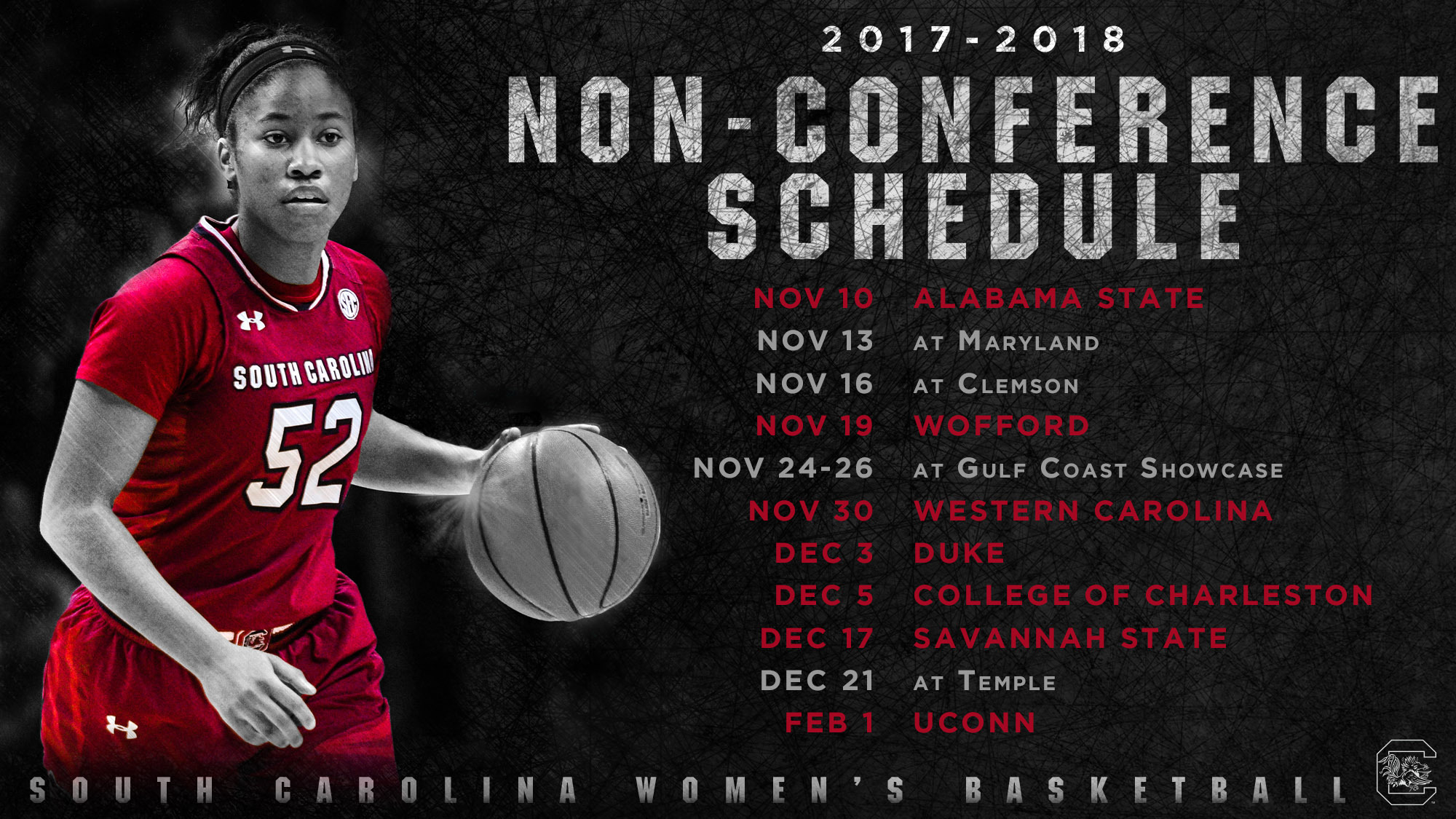 staley announces non-conference schedule - university of south