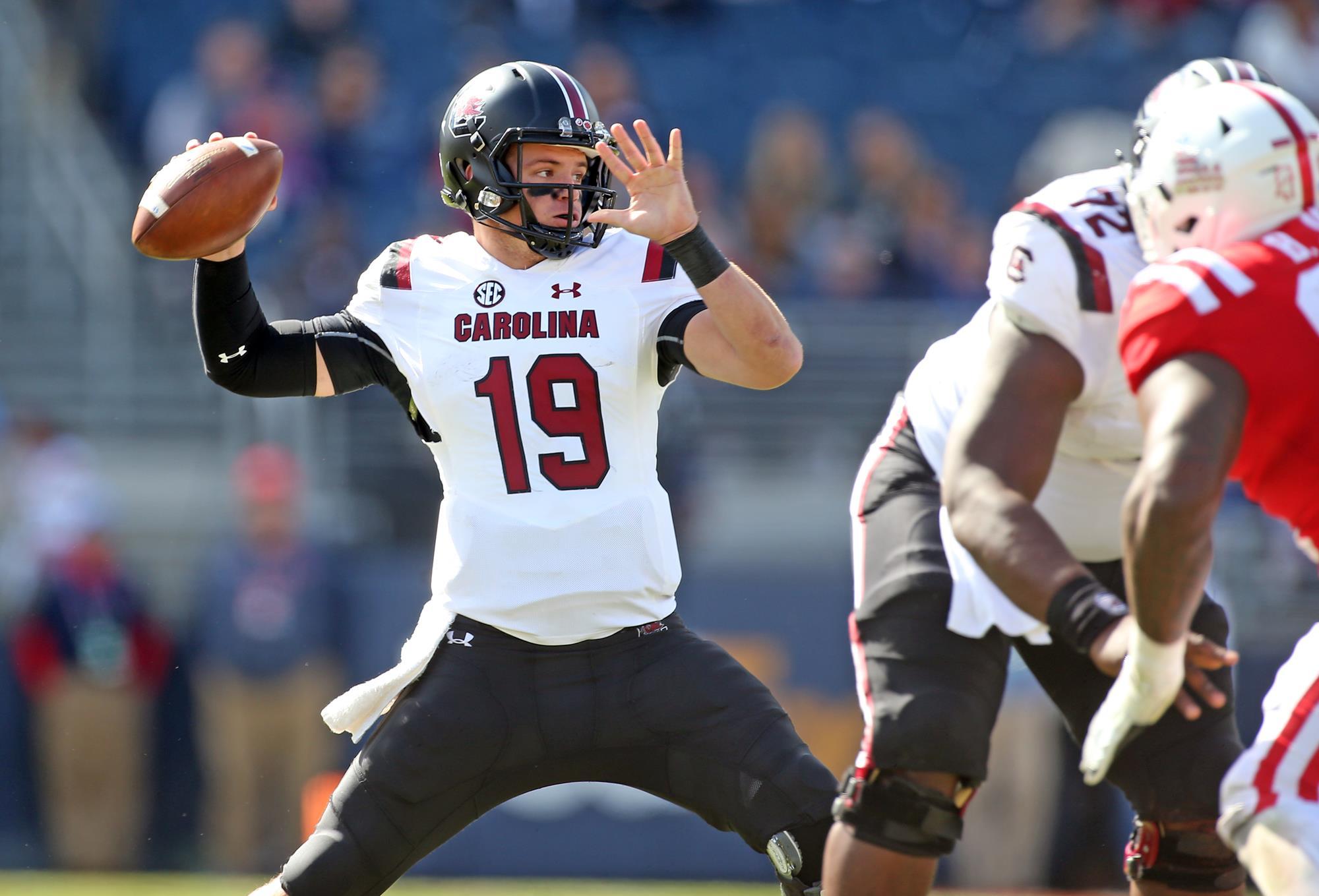 Jake Bentley - Football - University of South Carolina Athletics 736f84bfa