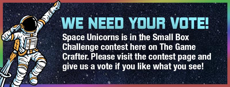 Vote in the Small Box Challenge contest