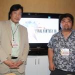 Hiromichi Tanaka (Producer) and Nobuaki Komoto (Director)