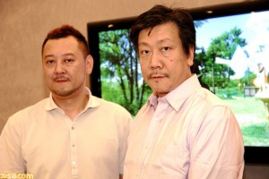 Sage Sundi (left) and Hiromichi Tanaka