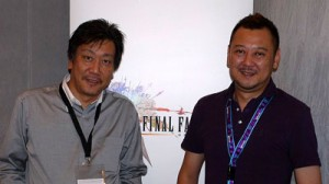 Tanaka (left) and Sundi smile for the camera