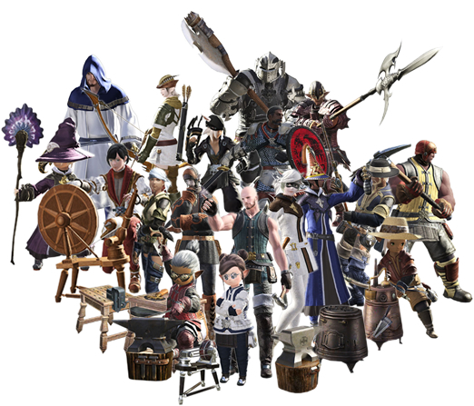 The 18 Disciplines Of Final Fantasy Xiv Gamer Escape Gaming News Reviews Wikis And Podcasts