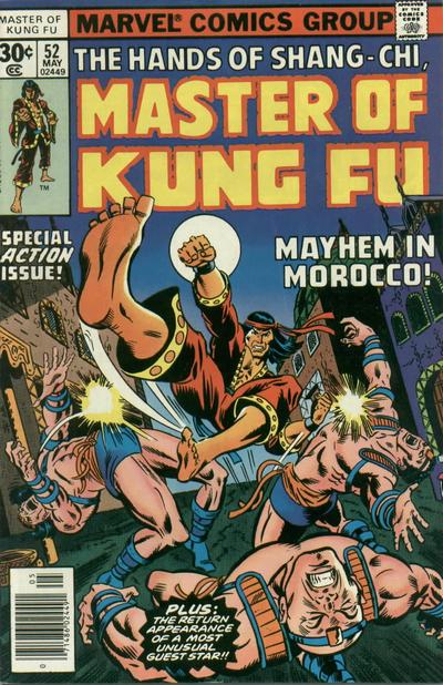 "See now, Morocco is the place for this kind of clothing. It can get up to 40° in the summer. I love how the cover says ""Special ACTION Issue"" as if there hasn't been also action in every other issue of this comic."
