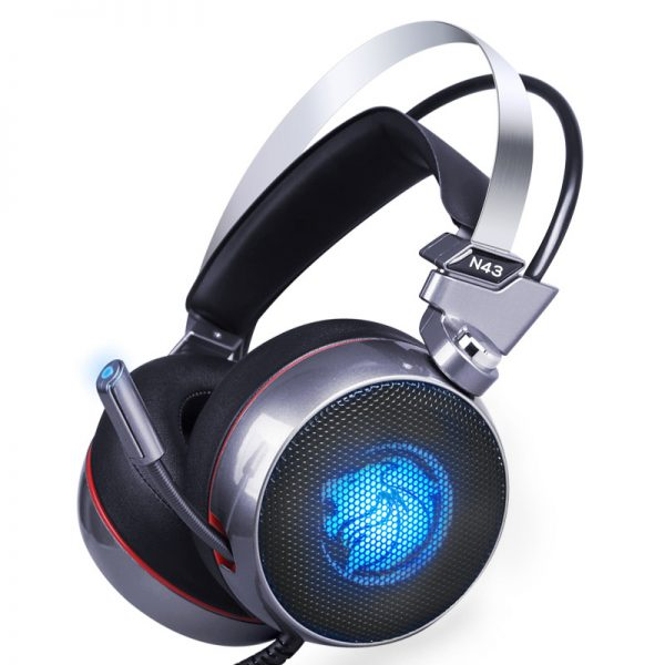 Lionny N43 Gaming Headset 7.1 with Mic LED