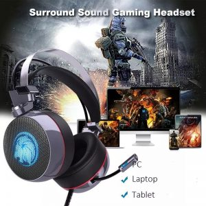 Lionny N43 Gaming Headset 7.1 with Mic LED 2